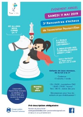 3e rencontres d'échecs passion'n'elan - 11 mai